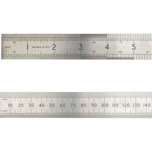 Advent, ASR1000, riga di precisione in acciaio,1000mm/1m, color argento, argento, ASR300