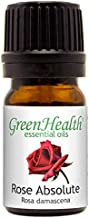 Rose Absolute Essential Oil - 5 ml - 100% Pure and Natural - GreenHealth (Morocco)