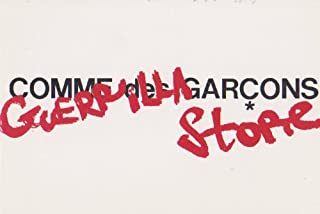 c49a66b1d9b9 Commes Des Garcons - Guerrilla Store - Downtown Los Angeles -  Postcard Poster Card