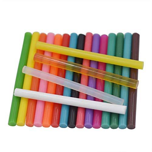 ERFHJ Thermosmeltstiften, 10 stuks, lichtgekleurde lijm, vintage-afdichting, wax, envelop, uitnodiging, stempel, veiligheid, verpakking, reparatiegereedschap