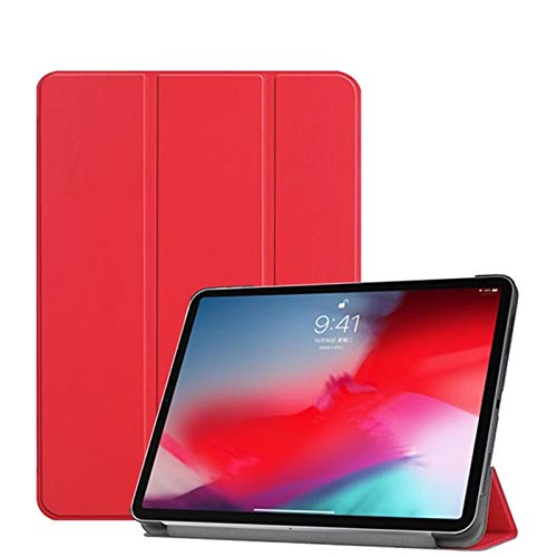 GHC PAD Cases & Covers For Ipad Pro 11 2018, Auto Sleep Smart Soft TPU case for Ipad Pro 11 inch 2018 (Color : Simple Red)