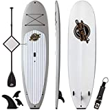 Premium Stand Up Paddle Board & Paddle Package - 10'4 Anima SUP - Durable Soft...