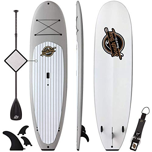 Premium Stand Up Paddle Board & Paddle Package - 10'4 Anima SUP - Durable Soft Top Paddleboard