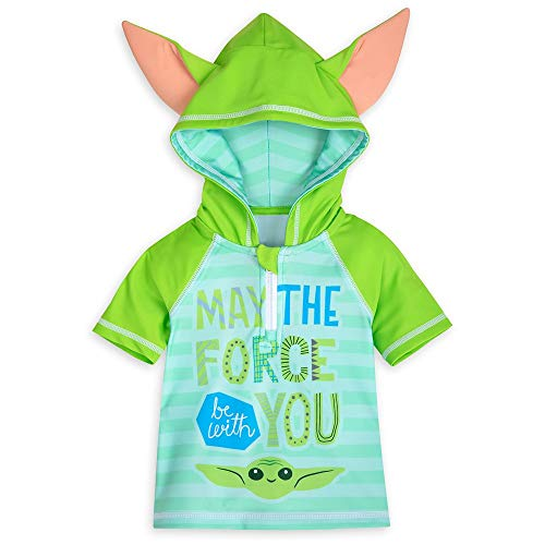 Star Wars The Child Rash Guard for Baby – The Mandalorian, Size 18-24 Months