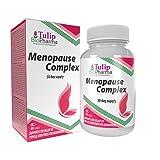 Complejo para la menopausia (cohosh negro, isoflavonas de soja 80% de extracto, PABA) 60 cápsulas, certificado de análisis de AGROLAB Alemania, alta potencia, sin rellenos ni sustancias de relleno