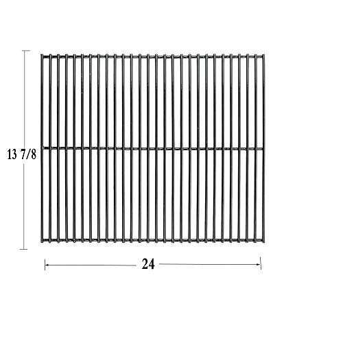Votenli P5570A (1-Pack) Porcelain Steel Wire Cooking Grid for Charbroil 7000, Kenmore and Others