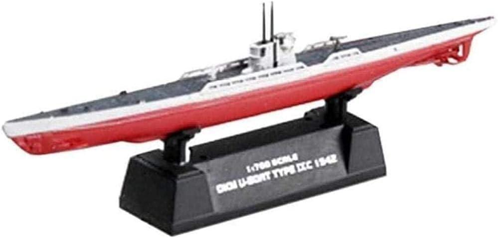 N-Y High quality Military Submarine Model 1 700 WWII U-9C Luxury Submari Navy German