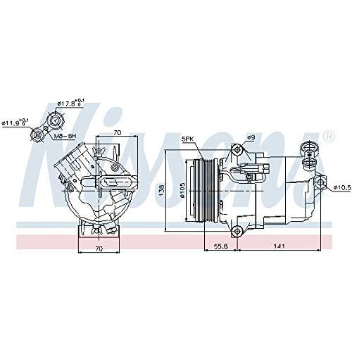 Nissens 89038 Clima compressori