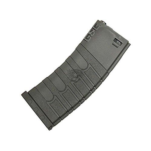 G & G M4 Polymer Magazin 120 Schuss schwarz Softair Zubehör