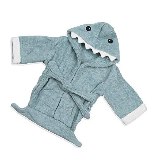 Kentop Hiver Peignoir Sortie De Bain Serviette de Bain Vêtements de Nuit Pyjamas Robe de Bain Poncho de Bain Cape de Bain pour Bebe 0-1 an