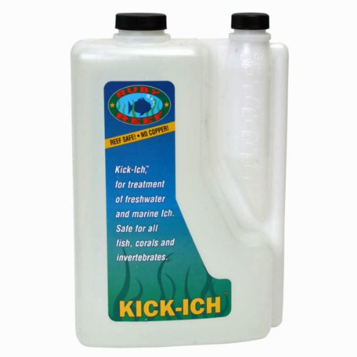 Ruby Reef ARR11122 Kick-Ich Aquarium Water Treatment, 2-Liter