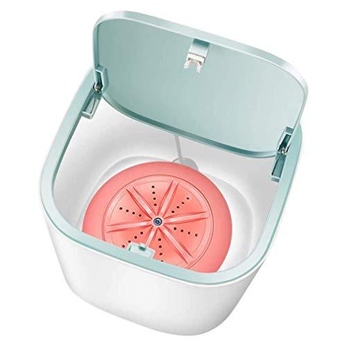 Mini lavadora Turbo portátil ultrasónico con alimentación USB Mini lavado personal ligero y compacto