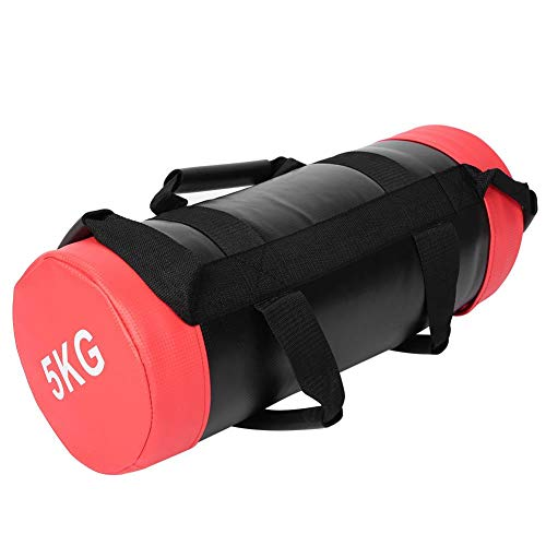 Buy Discount Hongzer Weight Bag, 5kg Fitness Power Weight Bag Sandbag Weightlifting Training Bags fo...