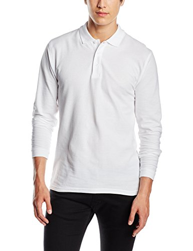 Fruit of the Loom Premium Long Sleeve Polo para Hombre