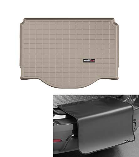 WeatherTech Kofferraumwanne +Stoßstangenschutz passend für Opel Mokka Gamma II 2012-16 Beige CargoLiner