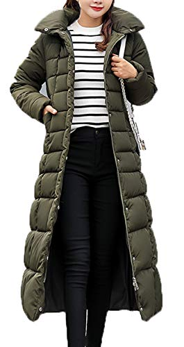 x8jdieu3 Frauen Winter Lange Daunenjacke Dicke warme super große Baumwolle Winterjacke Kapuzenhemd