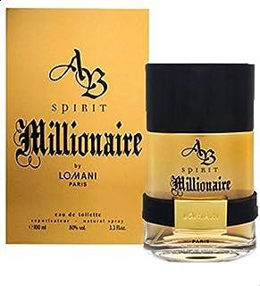 Lomani Spirit Millionaire For Men -Eau de Parfum, 100 ml-