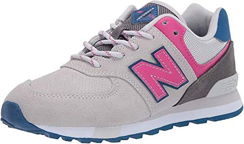 New Balance Kid's 574 V1 Lace-Up Sneaker, Summer Fog/Carnival, 5 W US Toddler