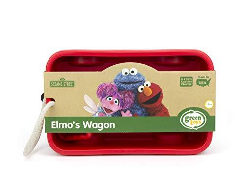Green Toys Elmo#039s Wagon red 1 ea