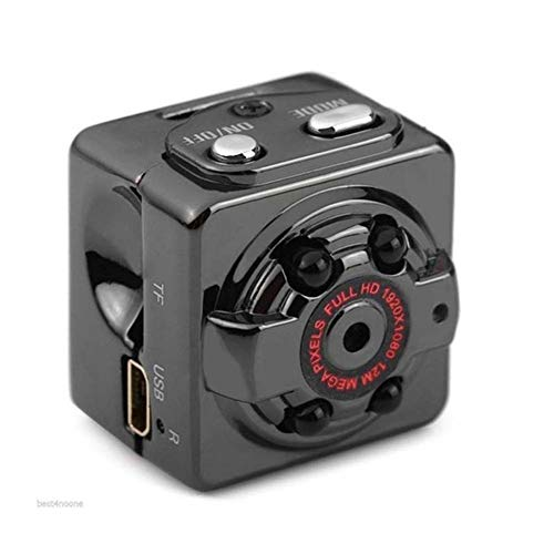 SQ8 Mini DV Kamera Kleine Kamera Videokamera Auto Sport IR Nachtsicht Video Camcorder SQ11 SQ8 High Definition Mini-Kamera Nachtsicht-DV Camera camcorder full hd, Schwarz
