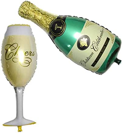 Champagne Cup Beer Bottle Folie Ballon Birthday Party Wedding Decor Ballon Helium Ballons Party Decoration