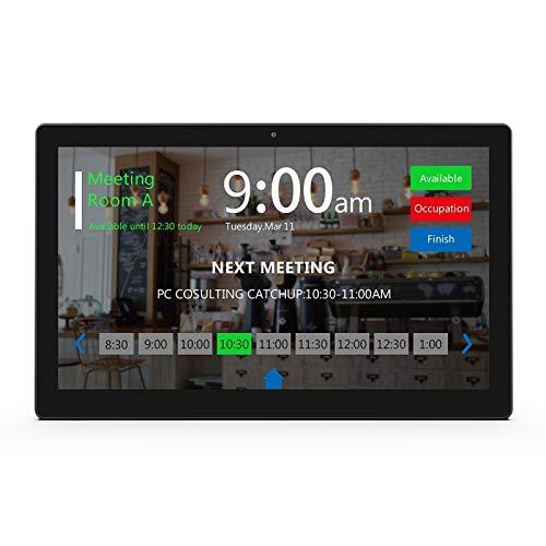 WA1542T Commercial Tablet PC, 15.6 Pulgadas, 2GB + 16GB, Android 8.1 RK3288 Cortex COREX A17 A17 hasta 1.8GHz, con Soporte de Barra de luz LED Bluetooth & WiFi & Ethernet y OTG (Color : Black)