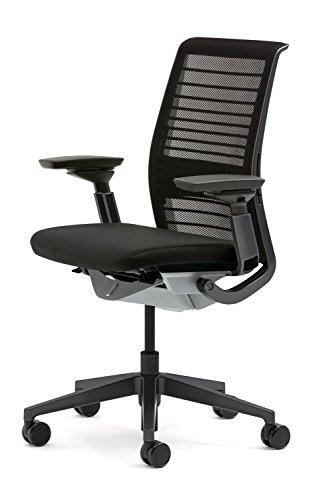 creative büroeinrichtung Bürostuhl New Think von Steelcase schwarz