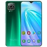 JNYB Teléfonos móviles desbloqueados, 6.8 Pulgadas Dual SIM 3G Android Smartphone Dual Sim Android Teléfono móvil Awesome, batería de 4000mAh,Verde