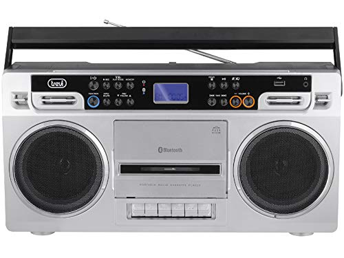 Trevi RR 504BT Radio Enregistreur avec Cassette Bianco