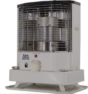 Stufa a combustibile liquido SaviChem KCF-S24 2400 W accensione piezoelettrica cm 42x31x52 H 75 m3 CON OMAGGIO