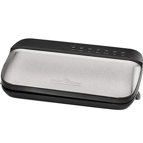 ProfiCook PC-VK 1134 Vakuumiergerät, edelstahl/schwarz