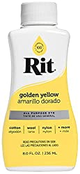 Rit Dye Golden Yellow
