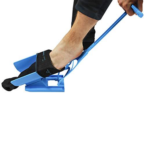UPP Anziehhilfe für Socken und Kompressionsstrümpfe 3-in-1 I Hilfsmittel für Senioren & Behinderte: Sockenanziehhilfe/-ausziehhilfe, Schuhlöffel