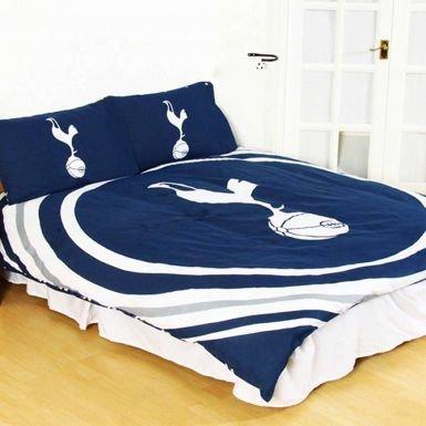 Tottenham Hotspur F.C. Official Spurs Double Duvet Cover Set (Reversible) image