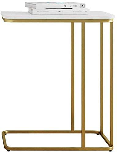 WYQ - Mesa auxiliar de hierro para sala de estar, creativa, hogar, mesa de café al aire libre, decoración de sofá, noche de ocio, mesa de negociación (tamaño: 50 x 30 x 58 cm)