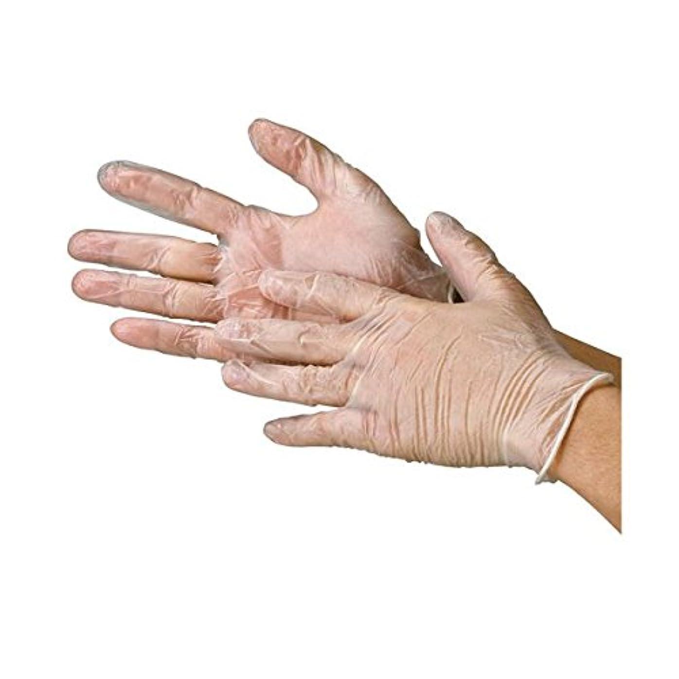 アリミケランジェロかどうか川西工業 ビニール極薄手袋 粉なし S 20箱 ds-1915776