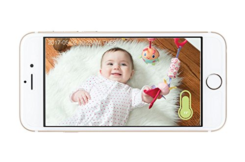 414i7fV4ZTL The Best Video Baby Monitors with Smartphone Apps 2021