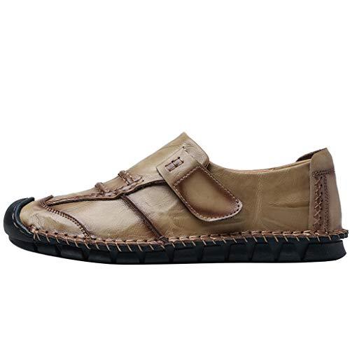 Xuthuly Herbst Männer Mode Vintage koreanische Version des Trends britischen Schuhe Klassische Bequeme Flache einzelne Schuhe Kurze Wilde Freizeitschuhe