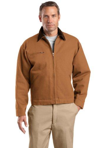 CornerStone Tall Duck Cloth Work Jacket>LT Duck Brown/Brown TLJ763