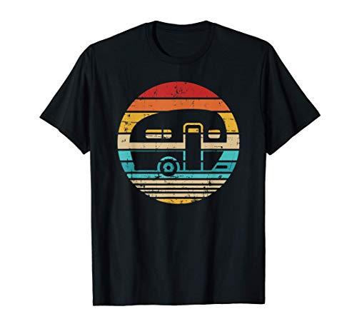 Camping Wohnwagen vintage T-Shirt