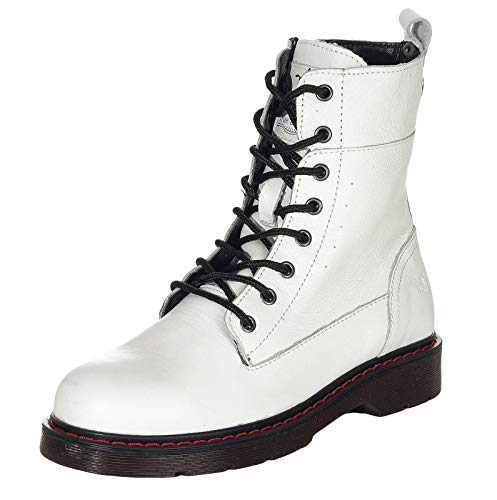 MUSTANG Shoes Damen Schuhe Schnür-Booty 2881-502-1 White 38