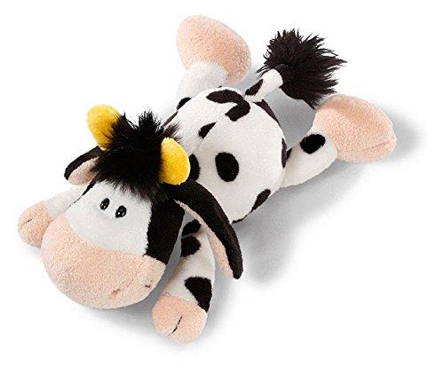 Nici 36832 - Kuh - liegend Plüschtier, 20 cm