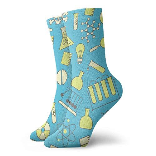 Preisvergleich Produktbild Laborbedarf Muster Casual Crew Socken Mode Athletic Tube Socks Bequeme Kleidersocken für Damen Herren