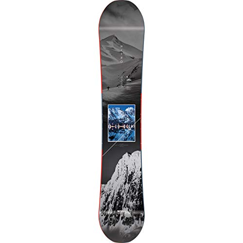 Nitro Snowboards Herren Team Exposure 20 All Mountain Freestyle Directional Twin Gullwing Rocker Wide Board Snowboard, mehrfarbig, 165 cm