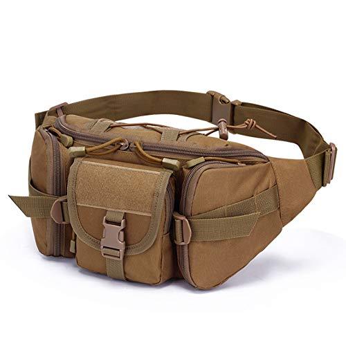 GAOHONGMEI Sac banane tactique militaire, sac banane pour la ceinture, organiseur d'outils pour l'extérieur, randonnée, escalade, pêche, chasse - 01#