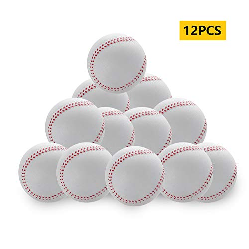 Cvian Baseball-Baseball-Kinder-Baseball, Schaumstoff, Softbälle, Training, Sport, Batting, Softball, 12 Stück, NP6OOMN53G34C609V51, 9, 12pcs