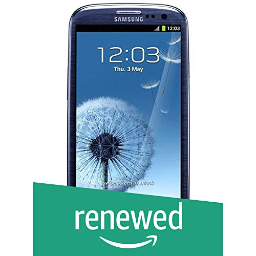Samsung Galaxy S III i9300 Smartphone (4,8 Zoll (12,2 cm) Touch-Display, 16 GB Speicher, Android 4.0) pebble-blue (Generalüberholt)