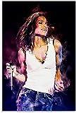 FEGASDF Janet Jackson Poster Dekorative Malerei Leinwand