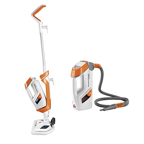 Great Features Of Bissell PowerFresh Lift-Off Pet Steam Mop, Steamer, Tile, Bathroom, Hard Wood Floo...