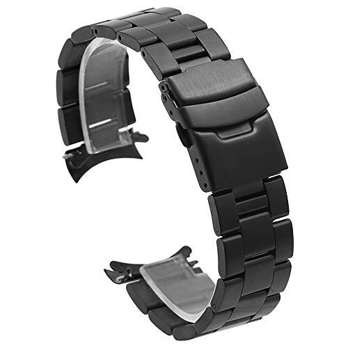 Kai Tian Watch Band Correas de reloj 20mm de acero inoxidable macizo...